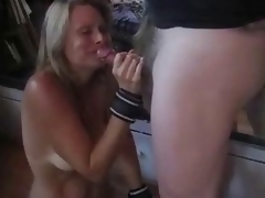 Seething hop torturs & spanking & cum swallowing