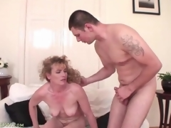 Cock together with ball sucking adult wants his jizz