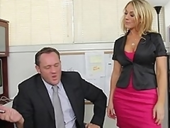 Amber Ashlee gets misdesignated purchase say no to boss's office