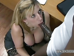 Mature slattern Sara Jay is give their way office and getting fucked