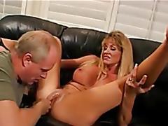 Golden-haired wife fucked, Tighten one's belt enjoys