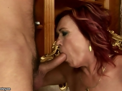 Hard cock enters that vaginal cavity with reference to such a nice popping sounds