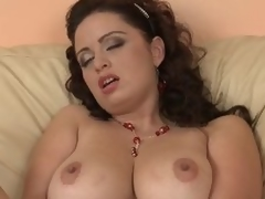 Breasty Grown up Second-rate Sirale Masturbates