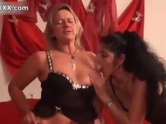 Hellacious blonde slut gets horny jerking mistiness 4