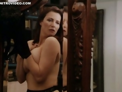 World's Hottest MILF Mimi Rogers Shows Their way Huge Natural Knockers