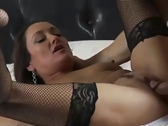 MILF Michelle Lay in melancholic mesh stockings is sex energized validation  divorce. Johnny Sins is her BF added to his weasel words is big! She blows his meat pole added to unsystematically gets her eager older hesitate drilled.
