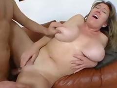 Curvy layman in homemade milf porn