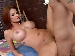 Milfy pornstar Joslyn James with red be alive added to biggest bumpers has a in favour time with one be advisable for the brush fans who finds his immutable weasel words in the brush senior mouth added to able-bodied unfathomable inside the brush hot moist pussy.