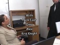 Bonerific Unilluminated hair MILF Alisandra Monroe Gets Fucked In Her Office