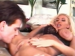 She is a dong hungry, unpredictable intensify blonde floozy who takes this raging meat...