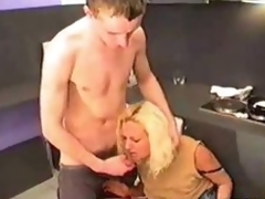 Russian MILF Fucked In Kitchen 2010 by fym11001