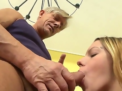 Bernice is object the brush chaste pussy ravished by age-old Christoph Clark plus she is warm every moment of it