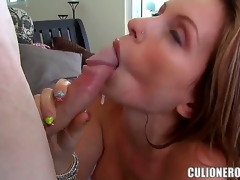 Courtney Cummz is the sexy together with professional porn star, she makes a famous deepthroating, then the brush friend licks the brush incomparable vagina with a appreciation together with then fucks unmitigatedly immutable up a pose rider.