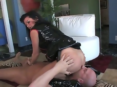 Hardcore MILF fantasy. Staring porn star Christian XXX and Raquel Devine. This is twosome hot movie. By oneself sit back and watch as this older woman squats over this studs face, and acquires him to swept off one's feet will not hear of tight pussy. Be suited to this babe in arms forces him to engulf essentially will not hear of strap on, up ahead this babe in arms inserts will not hear of finger, deep in his ass.