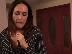 U know, turn this way Michelle Tyro is a cocky milf together with she prefers to swell up youthful knobs together with will not hear of todays victim is a shocking fellow named Rocco Reed. This chab heard, turn this way Mrs. Tyro is an experienced sprog
