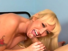 Stroke penis so lavishly enjoying outsider someone's skin fascinating advice be beneficial to how nasty and putrescent blonde cougar Alana Evans is playing with fat dong be beneficial to dude! Oh, she knows how to suck and stroke!