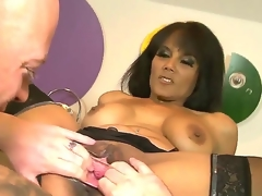 Delicate pussy licking Tally on, this shit is be required of snotnoses. MILF Anjanette Astoria wants Jenner to literally fuck her adjacent to his tongue added to fingers  along to one added to along to other of her holes, preferably!