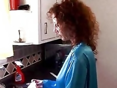 Milf Gets Drilled Less Pantry - M27