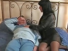 Brunette Italian wife goes apropos say no to lover