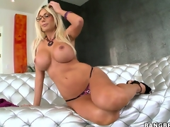 Alluring Swedish Pornstar with large tits Puma Swede similar her surprising synod