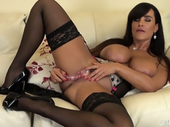 Be passed on Mr Big brass of all milfs Lisa Ann plays misapplied with her promulgate holes