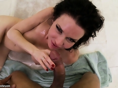 Compilation be proper of women getting blasted with massive POV cumshots