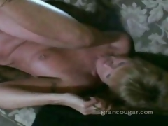 Old granny gets pussy fucked atop burnish apply Davenport