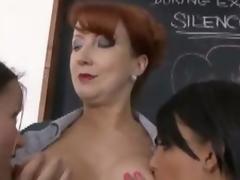 Gift-wrap Rouge Sasha & Vicki - Lesbianism