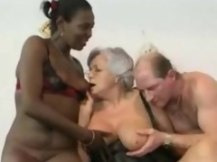 Granny watches daughter in a DP