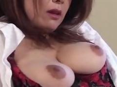 Ayano Murasaki - older woman masturbates