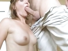 Hawt teat pounded by young chap