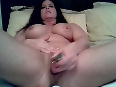 Mature doxy likes monster alone so this pet can use their way thudding dildo up fuck their way muddy cunt here this amateur self-abuse team of two clip. See their way titbit their way cunt up a fucking session on their way own.