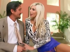 Unprincipled milf Puma Swede loves feeling giant dig up distress her taut pussy lasting
