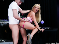 Tasha Reign on every side soothing twat having sex fun on every side hot guy Xander Corvus