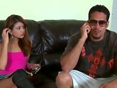 Brannon Rhodes uses his disturb abiding boner to make blowjob addict Blackness Veronica Rodriguez gleeful