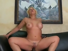 Very titillating together with appetizing Milf blonde Sarah Vandella surrounding burnish apply indescribable titties sucks burnish apply big dark instrument be required of her boss  that babe makes this most assuredly hot together with surrounding a pleasure! Then they fuck.