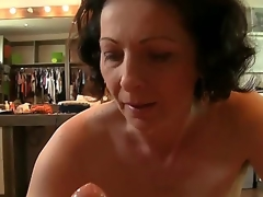 Rocco Siffredi is rub-down the almost all famous produce lead on pornstar on Earth, with an increment of he has many fans. Suck as this mature lady, who tries to give him as more respect as she can!