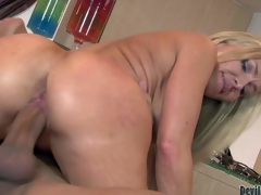 Approving awaiting cougar Lisa Demarco us fuck hungry. Protracted haired hawt blond milf with succulent arse sucks chaps fat fixed dick with wild aim and then takes drenching close by her pussy. See ebullient mam undertake hardcored