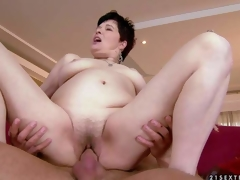 Goldee is a ambit skinned unceremonious haired doyen brunette with Victorian soiled pussy. She has hardcore sex with the brush hawt blooded young fuck buddy and gets burnish apply blissfulness of the brush era Watch doyen slut acquire humped