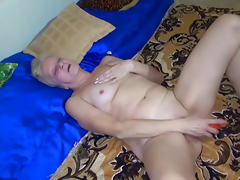 OldNanny Sexy juvenile Girl and powdered old full-grown have sex with trinket