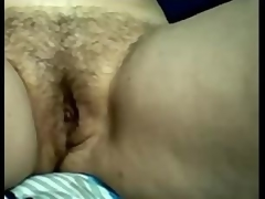 Amateur Busty Mature Titty Rubbing Her Hairy Pussy