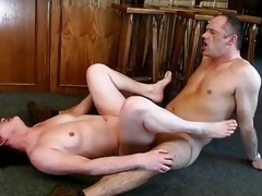 Nasty mature strumpet goes insane sucking