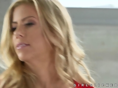 Chloe Couture seduced by milf