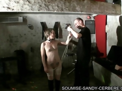 video bdsm soumise sandy enslavement and fuck