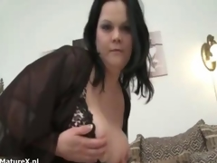 Horrific mature bbw bimbo shows her botheration not present
