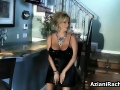 Naff milf blonde laid on a couch