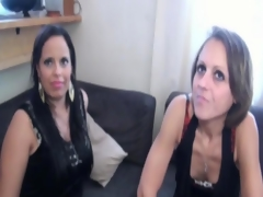 Fucking Linda and Anita in the first place the couch