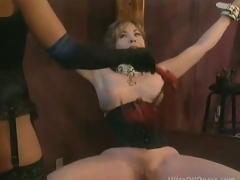 Busty Dutiful Mature Gets Compelled On every side and Whipped At the end of one's tether Super Hot Domina